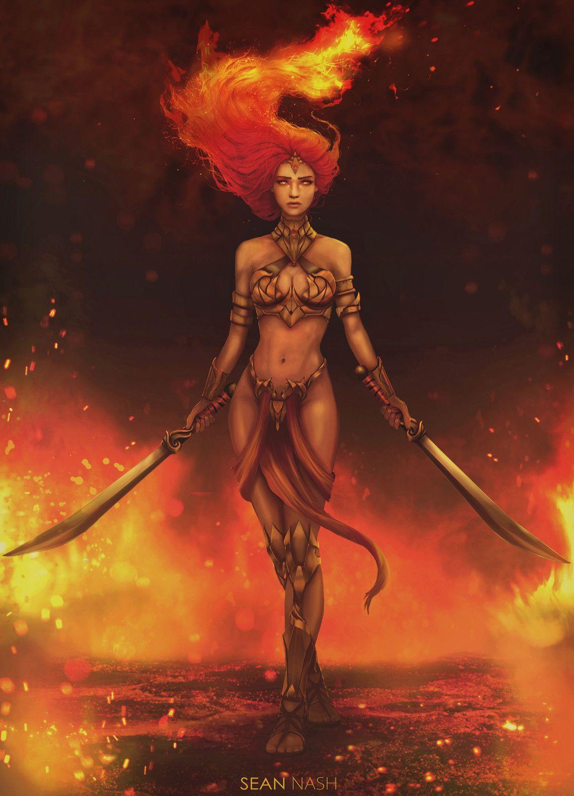 Photo of Fire Goddess , Sean Nash