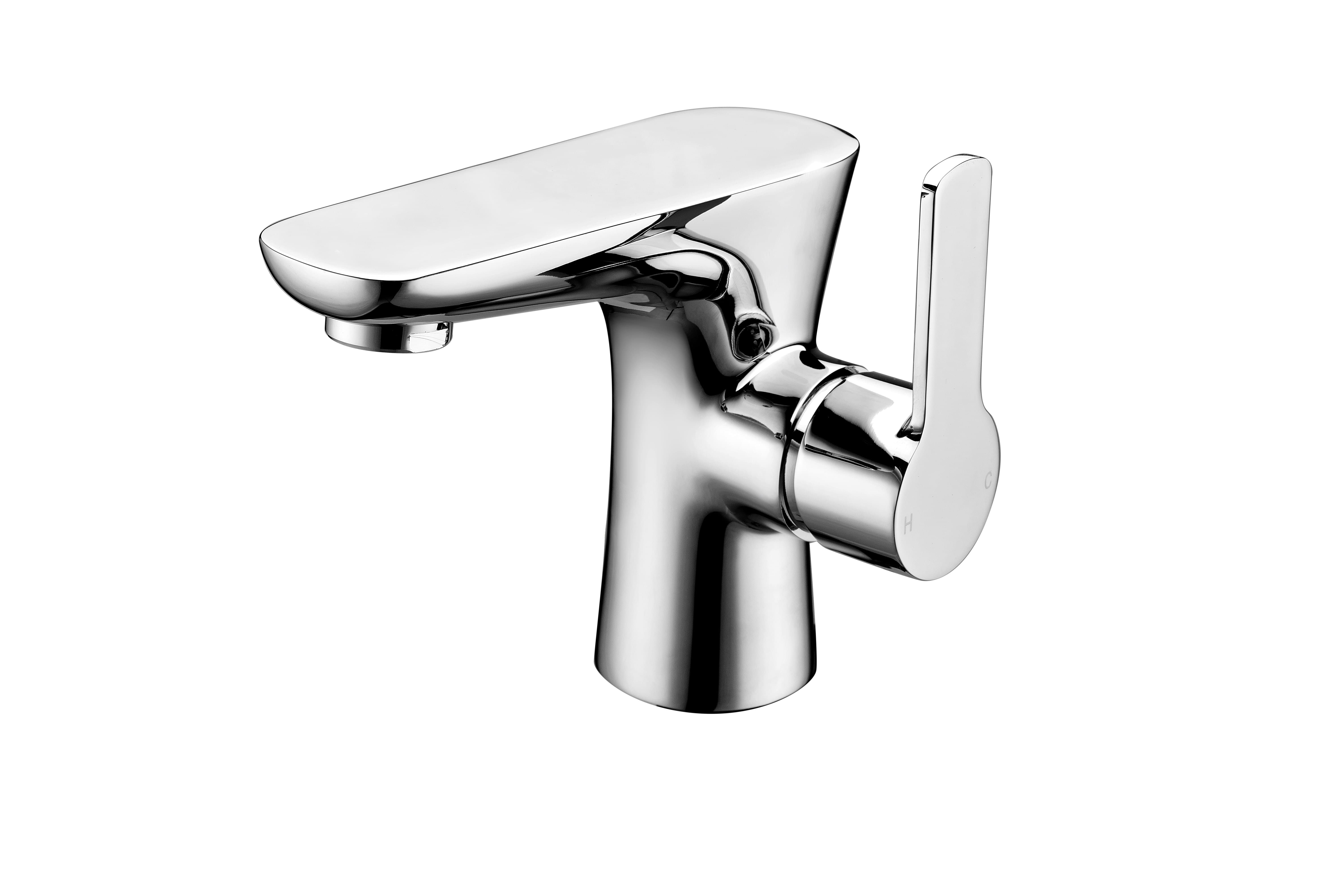 Garda Basin Mixer with Sprung Waste | Sonia Family Bathroom ...