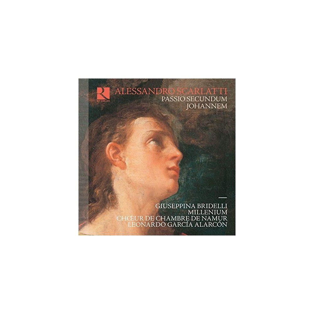 Scarlatti & Giuseppina Bridelli & Leonardo Alarcon - Alessandro Scarlatti: Passio Secundum Johannem (CD)