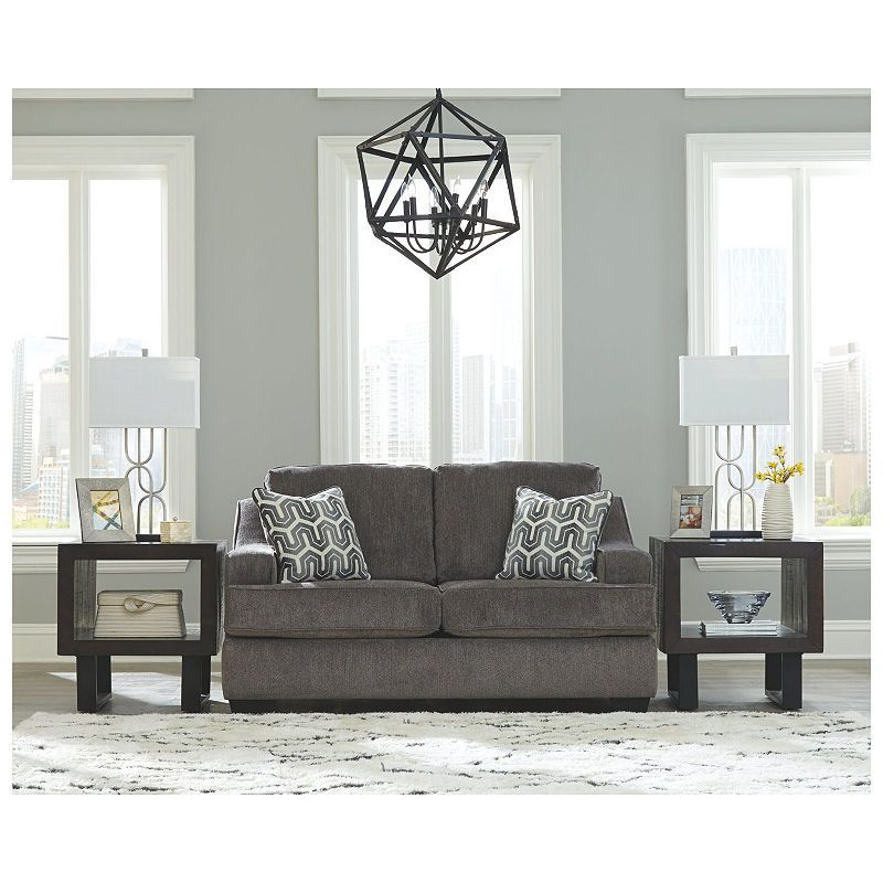 Signature Design By Ashley Gilmer Loveseat Furniture Signature Design By Ashley Love Seat