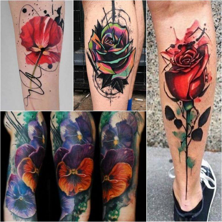 Photo of Designs de tatouage à l'aquarelle – Technique de tatouage à l'aquarelle et suivi