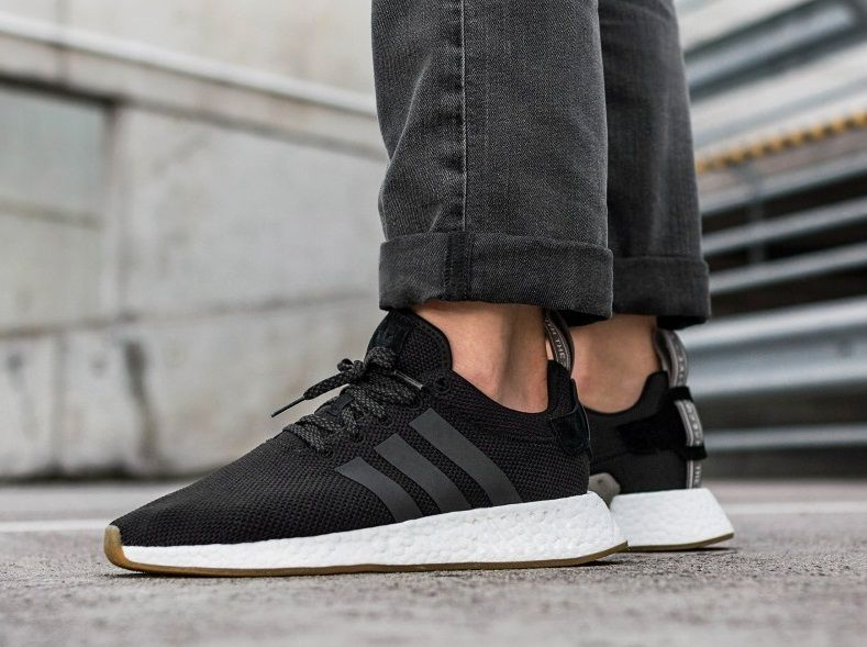 0af6119a5faccc Adidas NMD R2 Core Black Utility Black Mens Trainers