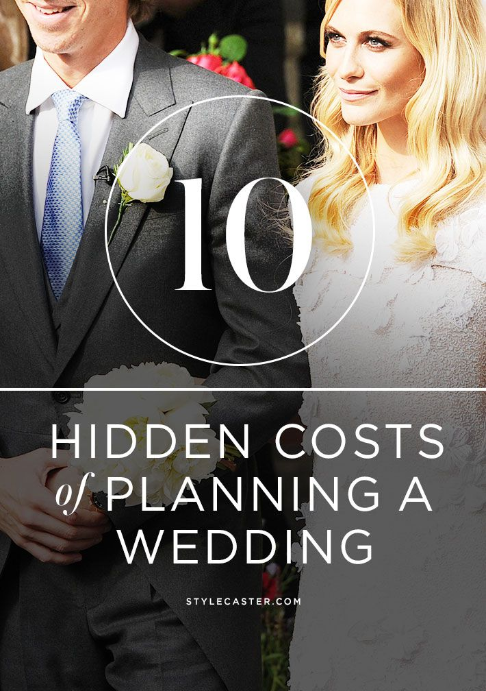 10 Hidden Wedding Costs Every Bride-To-Be Should Know About   Expert tips to avoid adding tens of thousands to your initial budget!