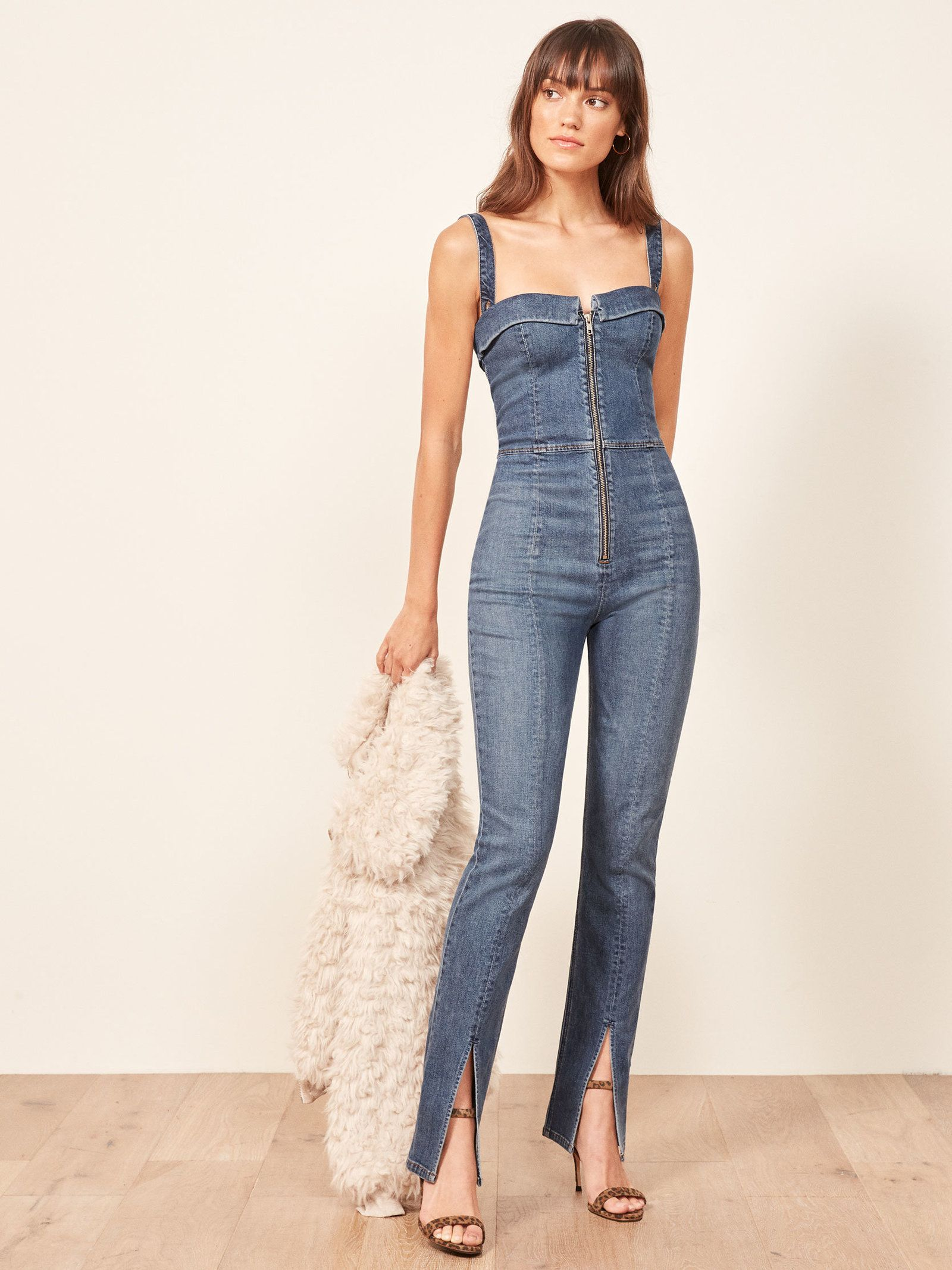 87f687d20364 Reformation Crawford Jumpsuit in 2019
