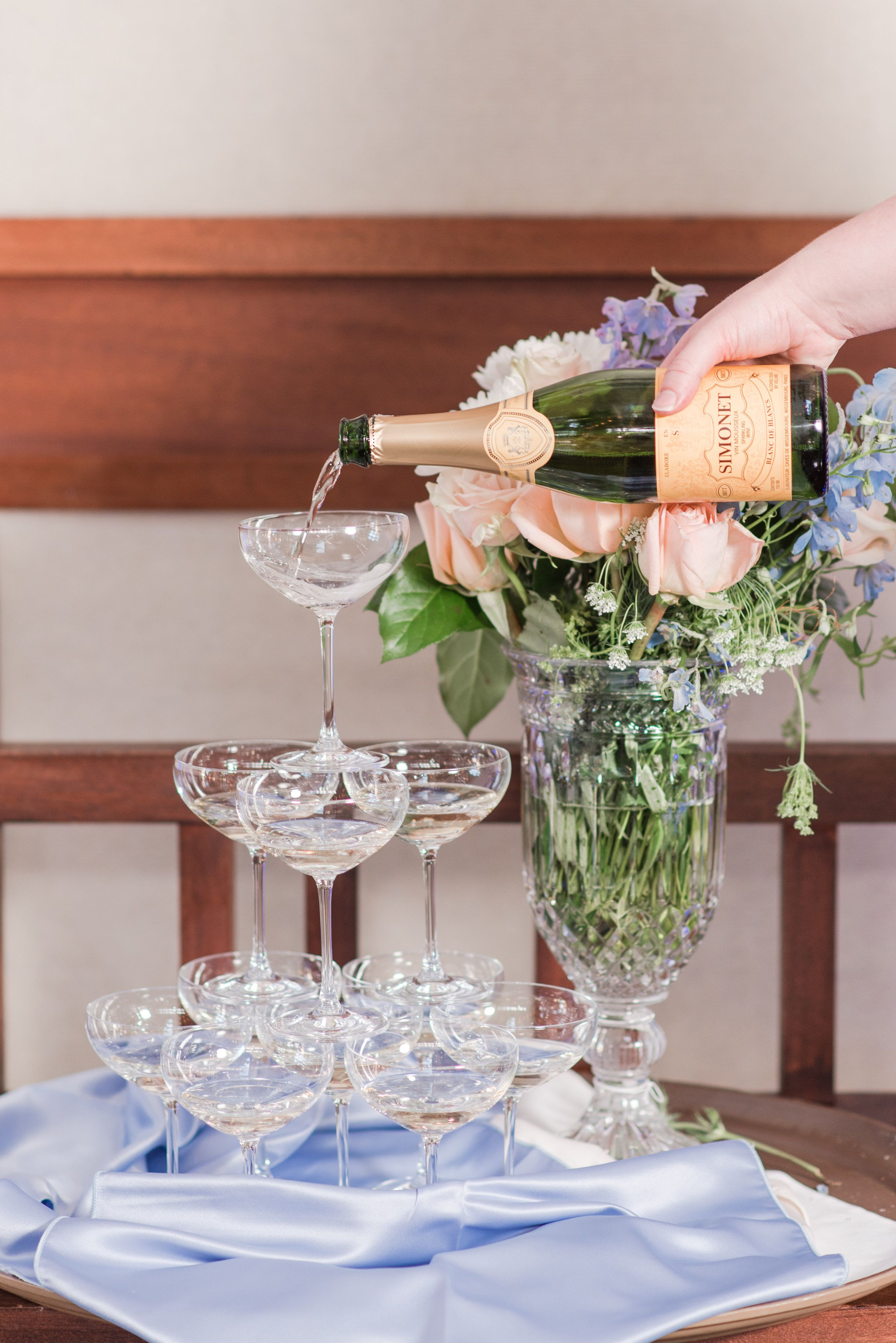 Brianna & Shawn// Virginia Wedding // Donna Morgan Collection // Bridesmaid Dresses  Wildflower // Audrey Rose Photography//
