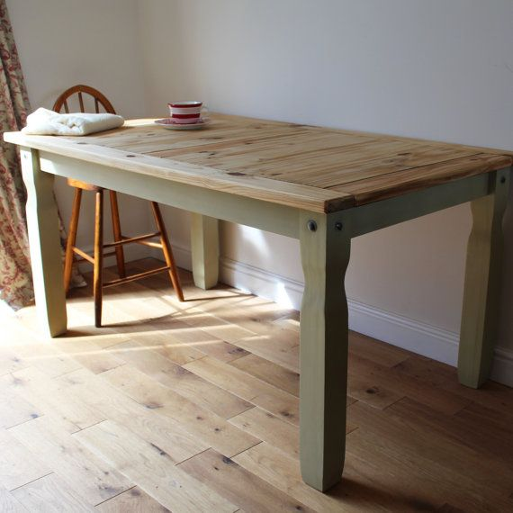 Solid Pine Dining Table / Large table / by SuzieValentineAllan