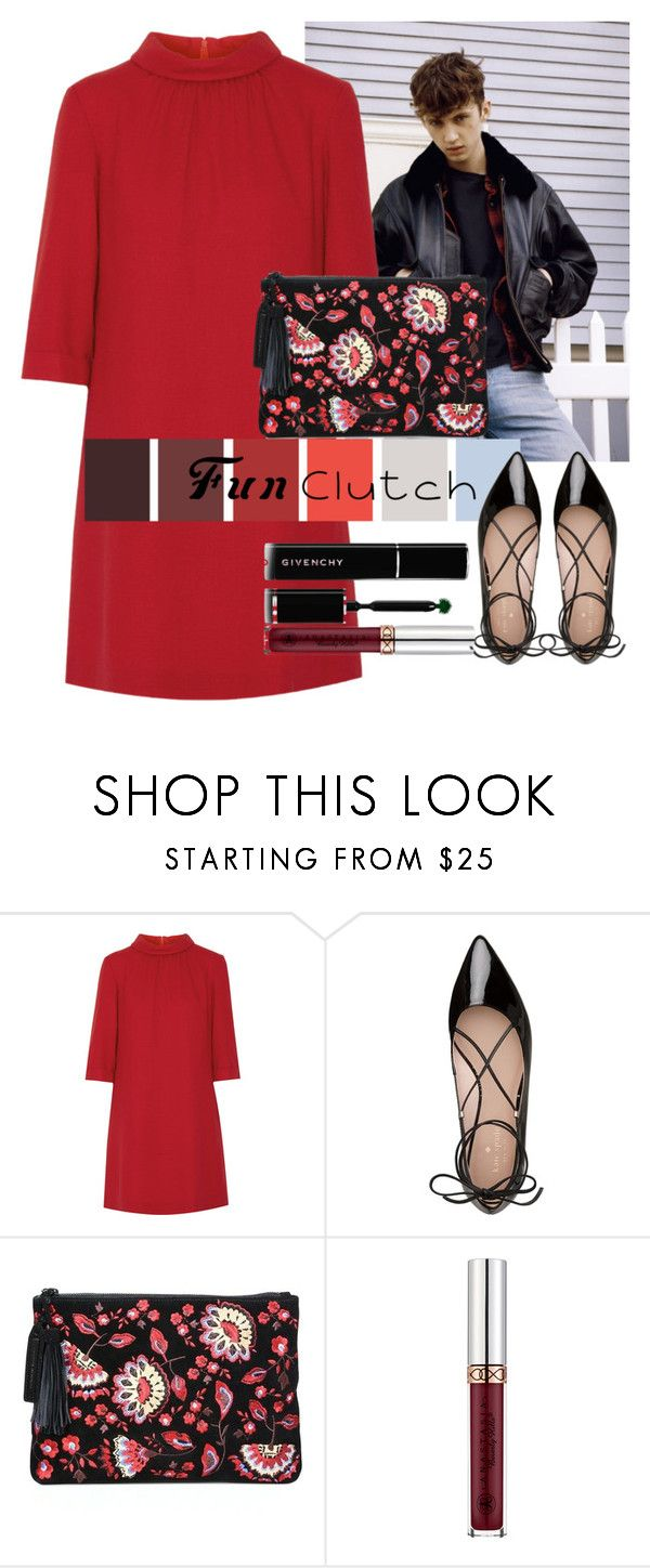 """""""FUN CLUTCH #2"""" by monserrat-a ❤ liked on Polyvore featuring Goat, Kate Spade, Loeffler Randall, Anastasia Beverly Hills, Givenchy, Clutch and troyesivan"""
