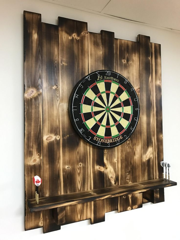 Made myself a dart board backer. Click to see the DIY for