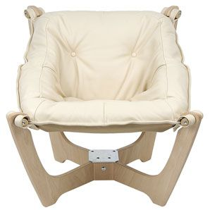 John Lewis Zest Leather Chair Off White ChairsLiving Room