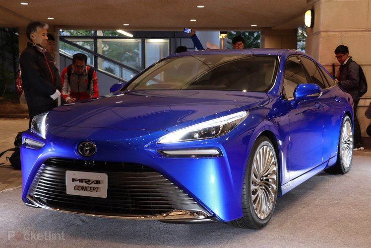 Toyota Mirai 2020 In Pictures A Fresh New Look Hydrogen Fuel Cell Hydrogen Fuel Fuel Cell Electric Vehicle