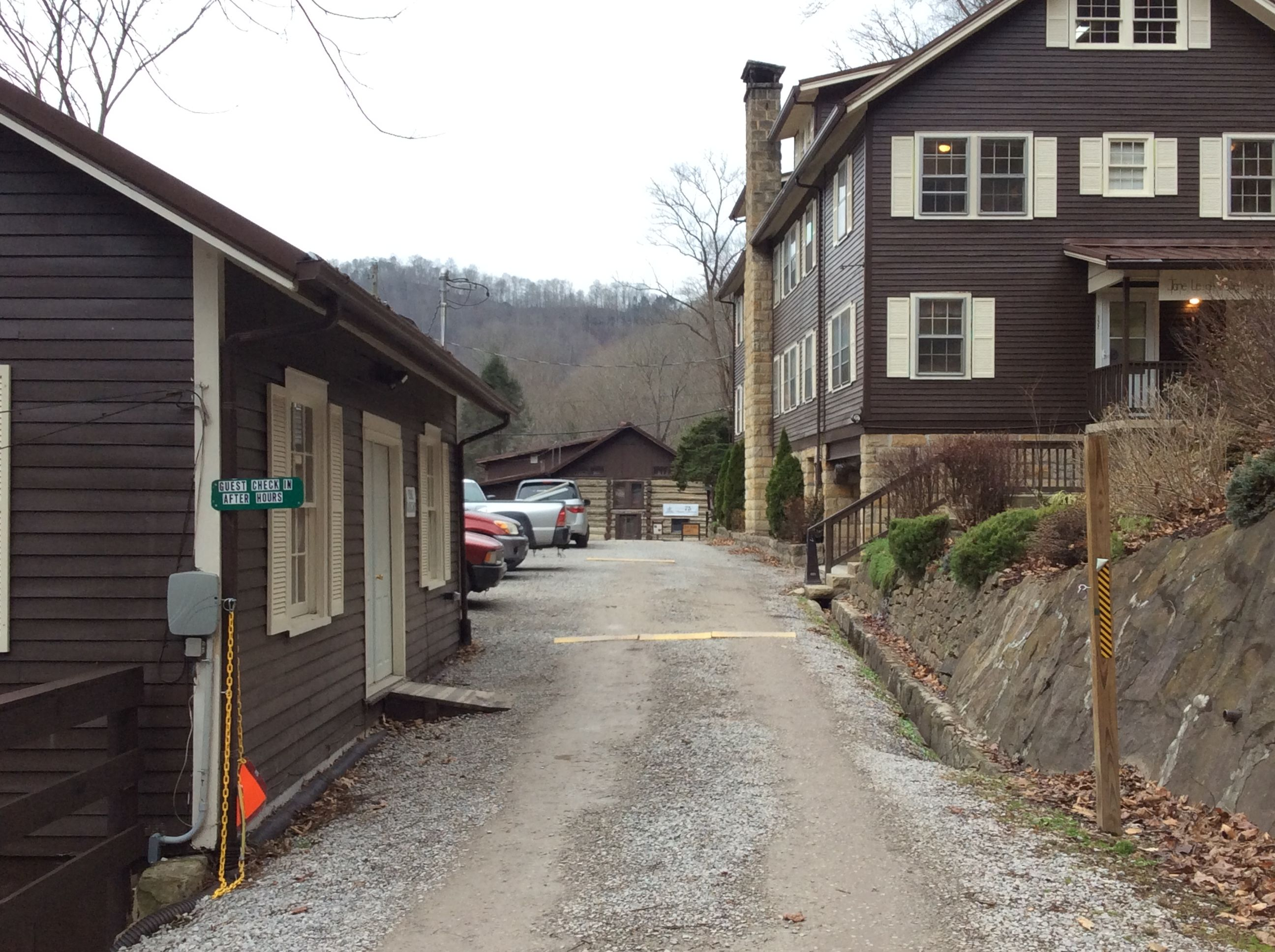Driveway to FNS complex, Wendover, KY, 2014, Photo by Brad