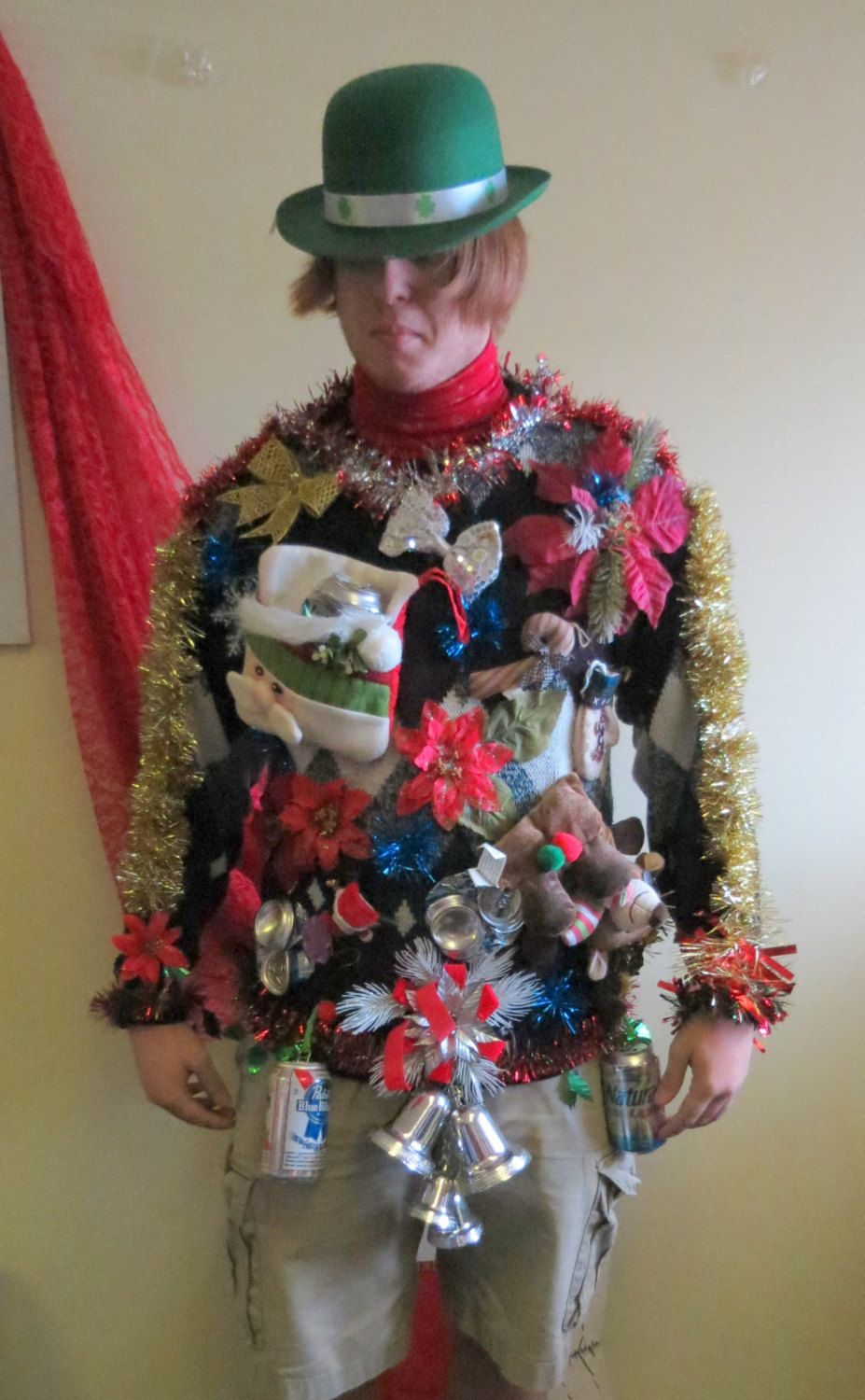 Pin on MANLY MEN UGLY CHRISTMAS SWEATERS