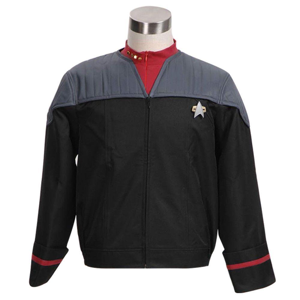 Halloween Costume Star Trek Nemesis Voyager Captain Sisko Jacket ...