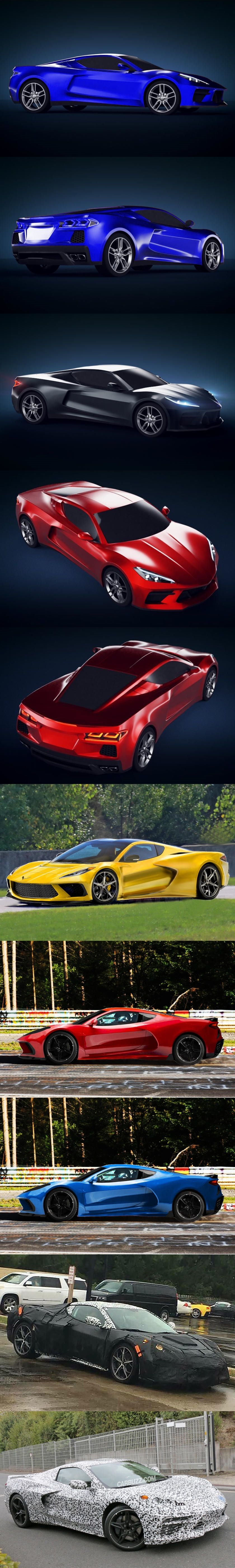 Insider Claims Corvette C8 Will Be Called 'Manta Ray'  Company