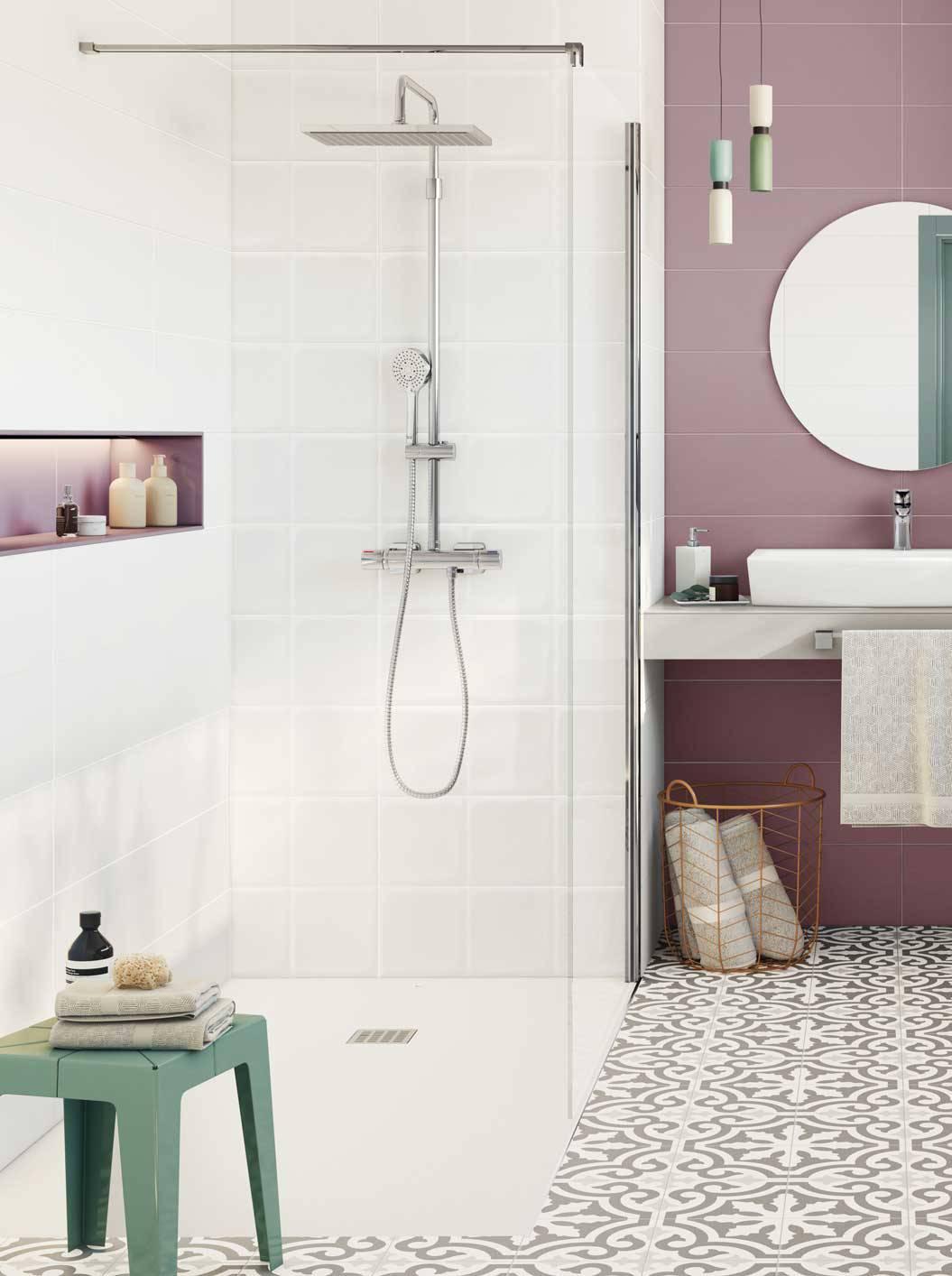 100 Ideas Geniales Para Un Bano Pequeno Banos Azulejos Blancos