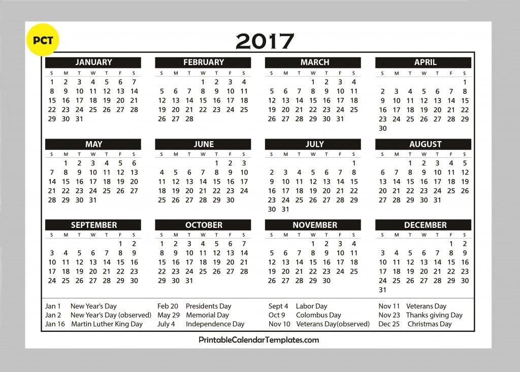 Calendar Bank Holidays : Calendar template with holidays