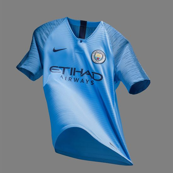40e5b96d9 Manchester City 18-19 Home Kit Released - Footy Headlines