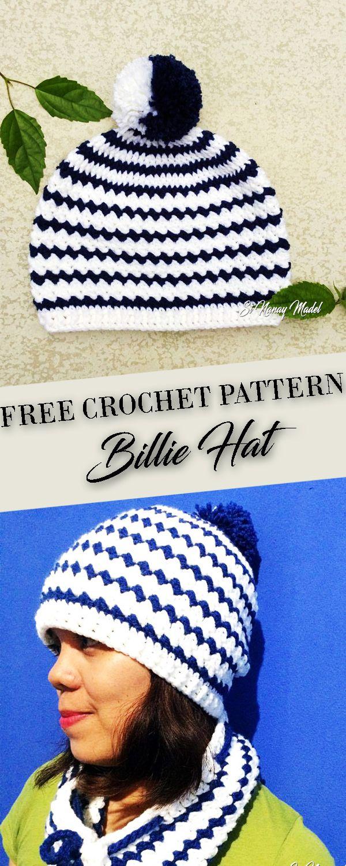 Billie Hat free crochet pattern | 2017 crochet patterns to try ...