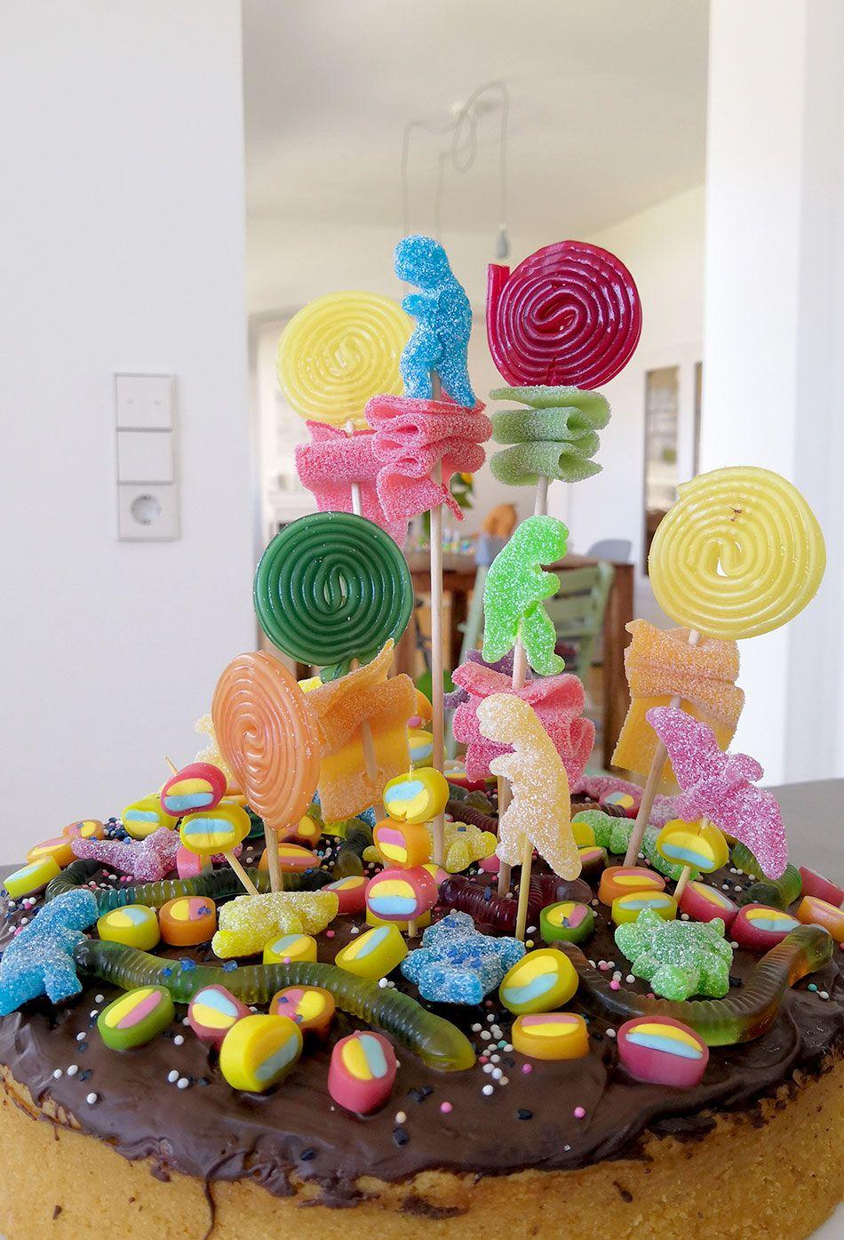 Candy Cake Dino Kindergeburtstag Vegan,Marmorkuchen