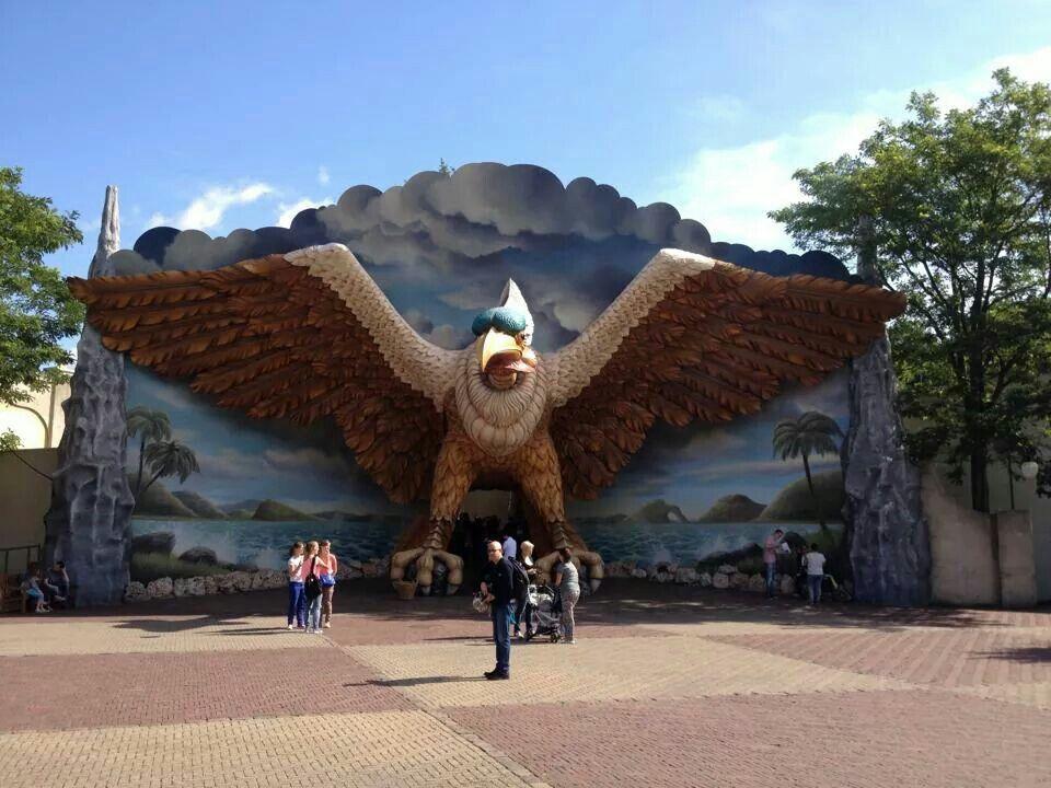 Vogelrock. De Efteling, The Netherlands.