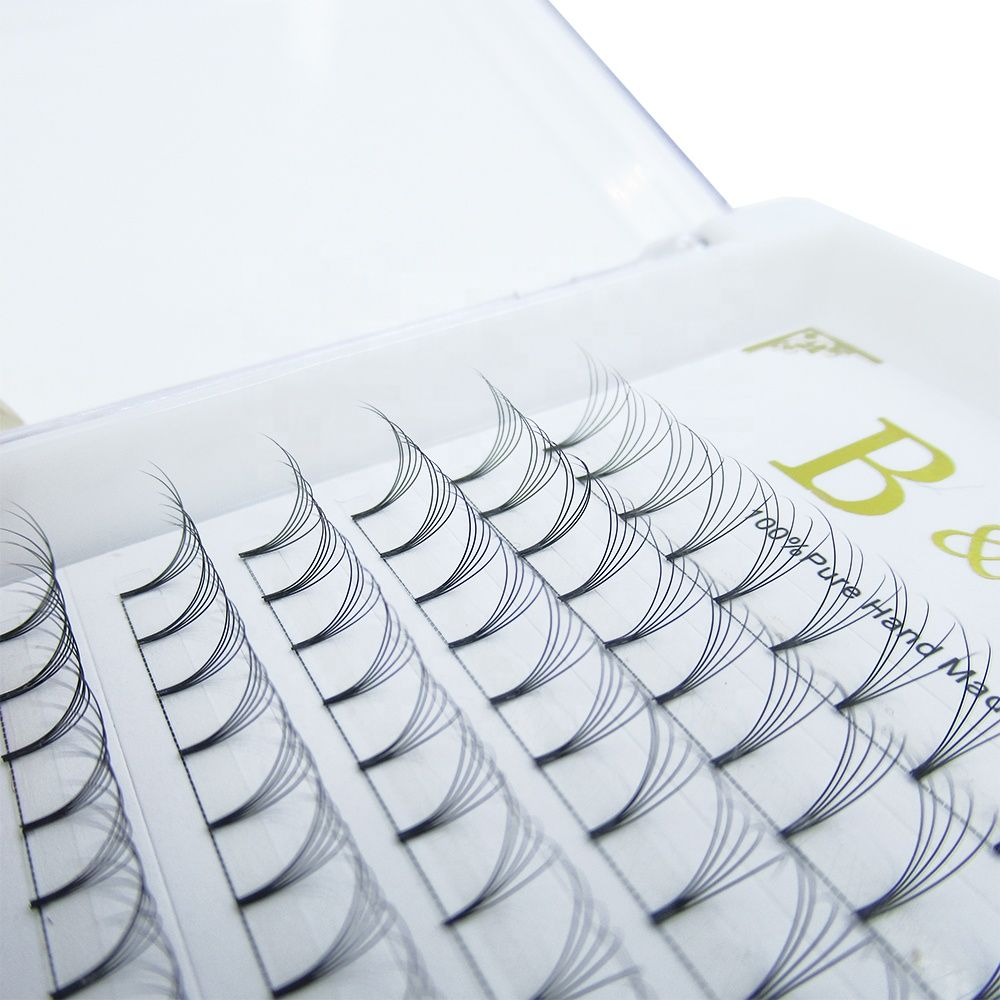 906eeac298f 12 Lines Pre Fanned Lashes, Best Sellers Volume Lash Extensions, Private  Label 2D 3D