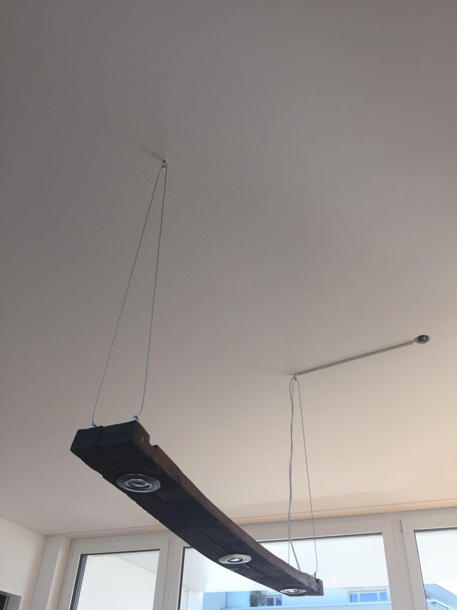 Wooden Lamp Made Out Of Barrel Staves With Led Lighting Holzlampe Aus Fassdauben Mit Led Leuchten Holzleuchte Fassdauben Weinfass