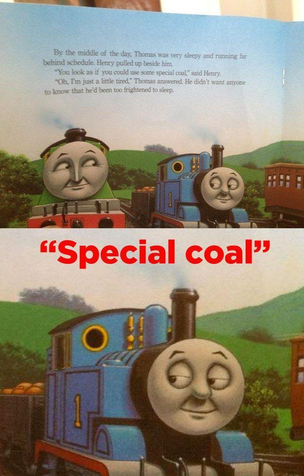 Image Result For Thomas The Tank Engine Meme Thomas Meme Thomas And Friends Dark Humour Memes