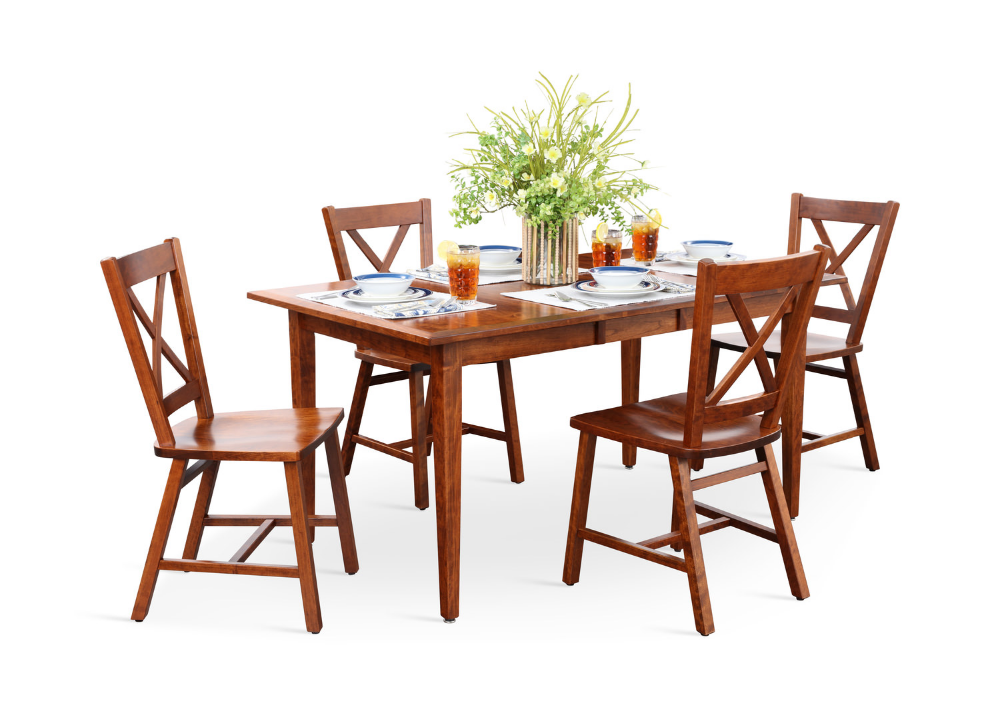Eagle Mountain Extension Table And 4 X Back Chairs With Images