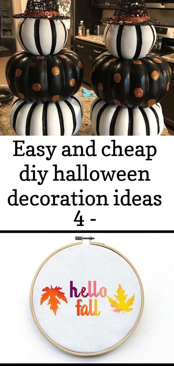 Easy and cheap diy halloween decoration ideas 4 - www.mrsbroos.com 10 #cheapdiyhalloweendecorations