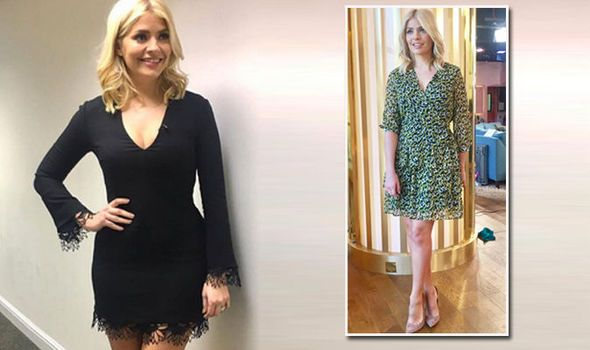 'Those legs are slowly coming out' Fans overjoyed as Holly Willoughby wears short dress