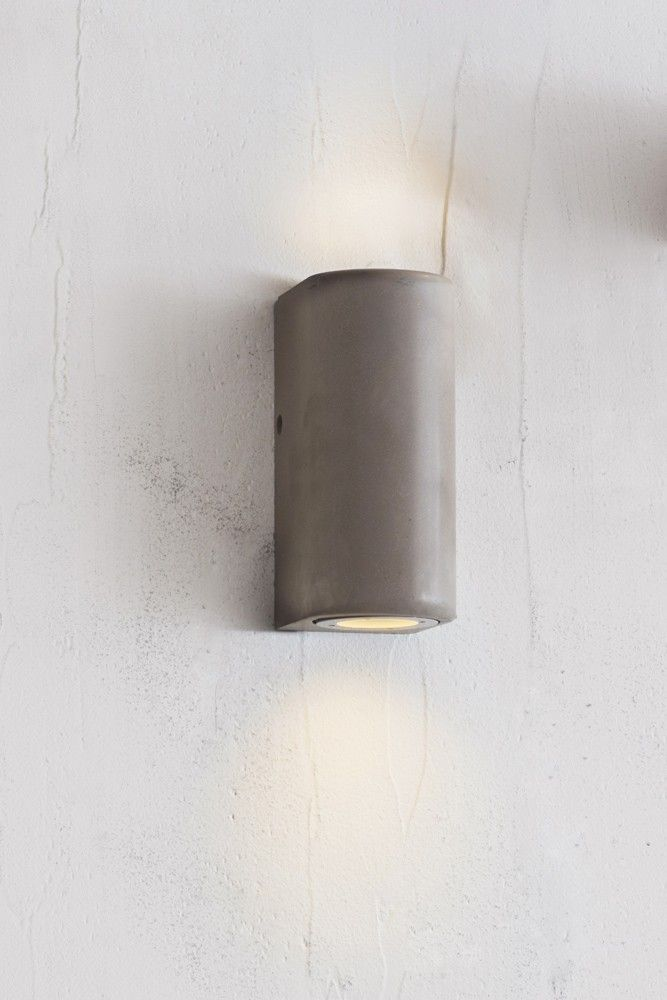 Southbank outdoor concrete up down wall light from rockett st george
