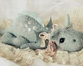 """PDF File for 10 - 11 Inch Dragon """"Florence"""" Sewing pattern"""