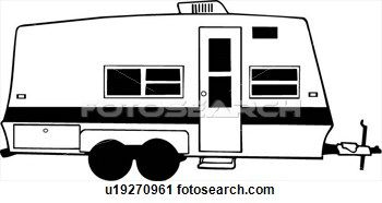 Image Result For Retro Camper Trailer Clipart