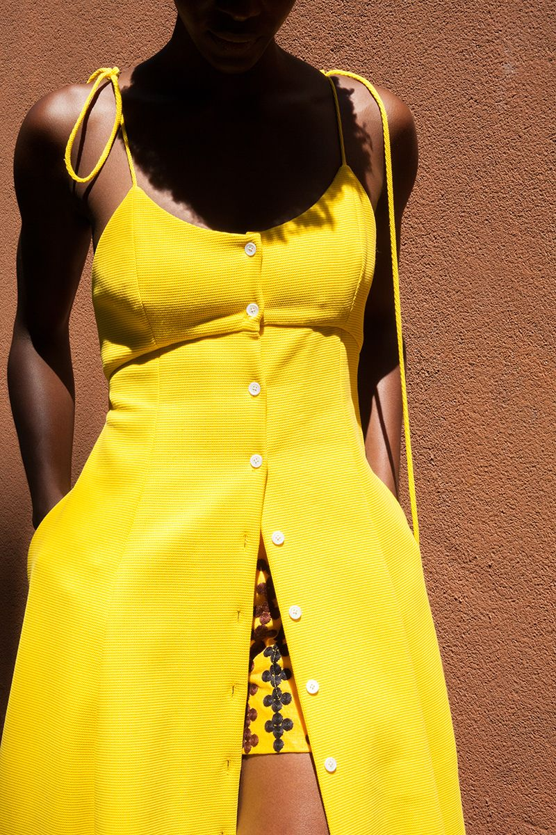 51fcd54c How to Wear Yellow (Like, ALL Yellow) | Man Repeller Outfits ...