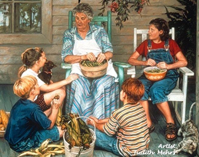 Swinging granma stories