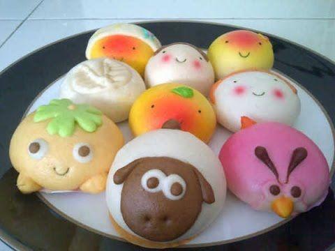 Resep Membuat Bakpao Karakter Boneka Lucu Mudah Dipraktekkan Youtube Resep Makanan Chocolate Chip Muffins
