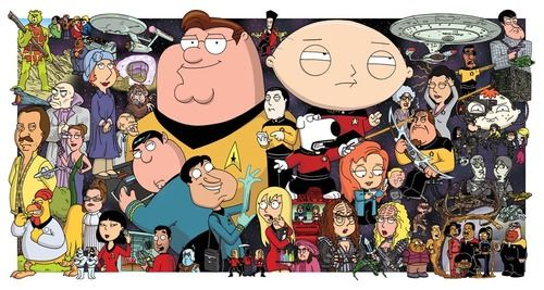 Family Guy Trek Star Trek Star Trek Universe