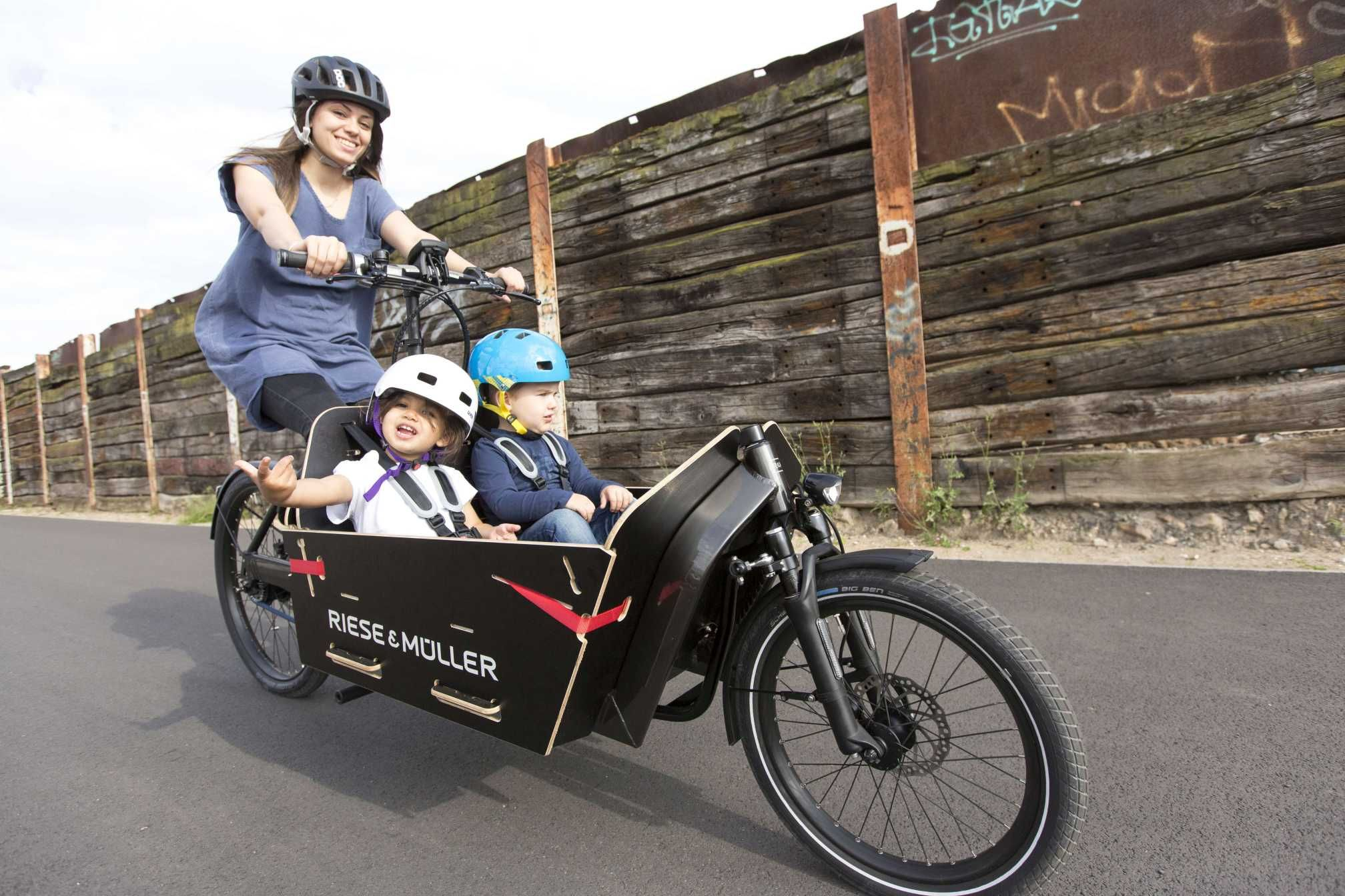 Riese müller packster cargo e bike 2017