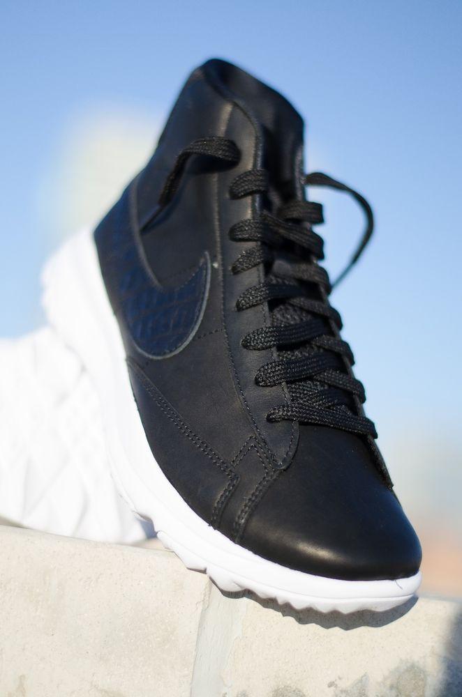 a3f9c4272ce NIKE - 818730-001 - BLAZER - Women s Golf Shoes - Black on Black   White - Size 7  Nike
