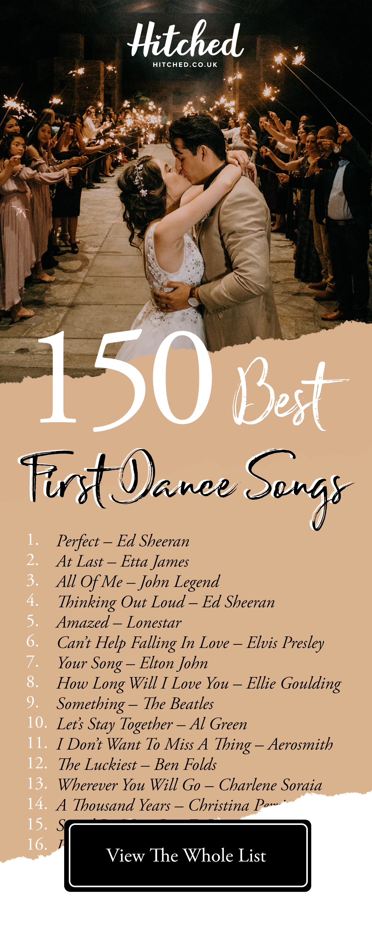 The 150 Best First Dance Songs Of All Time First Dance Wedding Songs Best First Dance Songs Wedding Love Songs