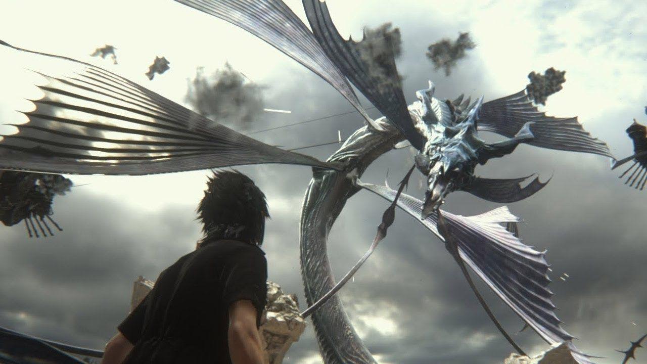 Final Fantasy Xv Leviathan Boss Fight Gaming Pinterest Deluxe Edition Region 3