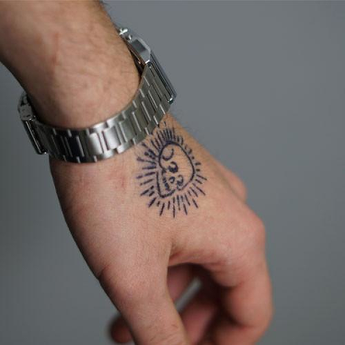 Vertex Tattoo - Semi-Permanent Tattoos by inkbox™