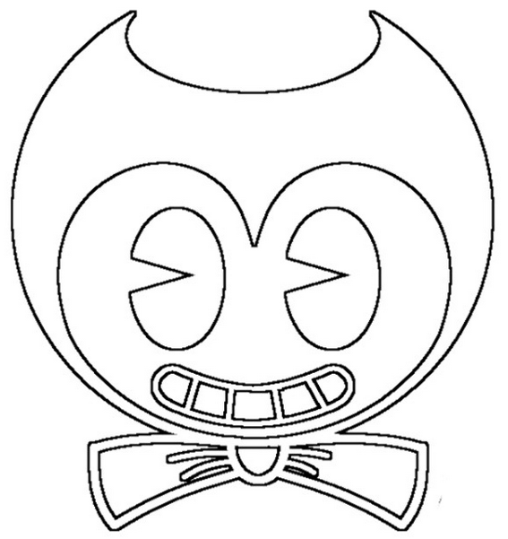 Bendy Head Coloring Pages Coloring Pages Free Coloring Pages Color