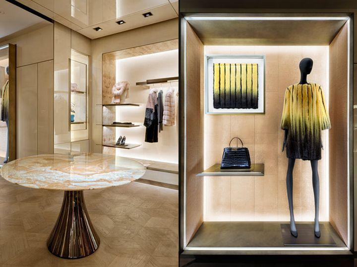 FENDI Flagship Store By Curiosity London UK Retail Design Blog