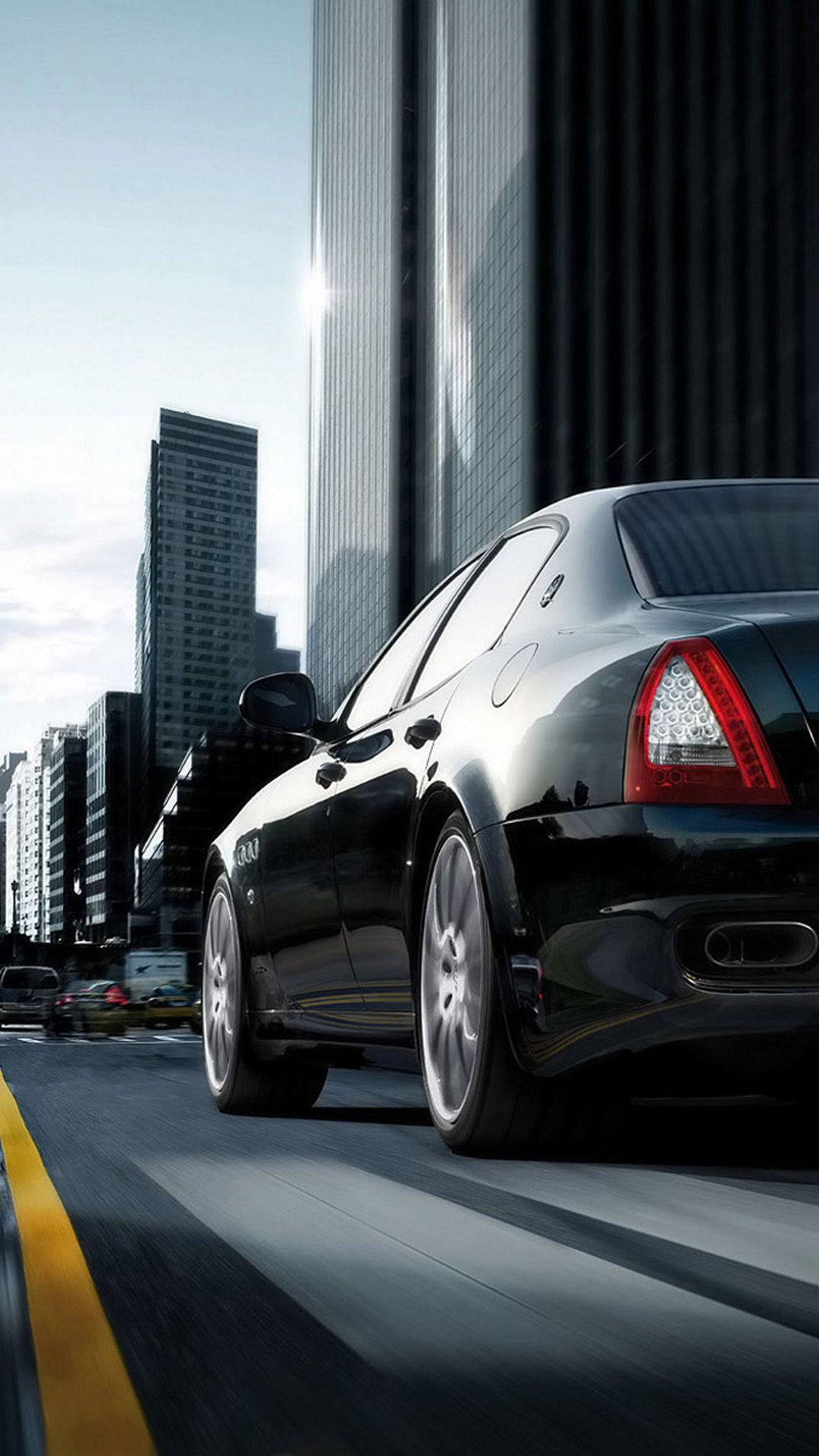 Maserati Quattroporte Black Cars Motorcycles Pinterest