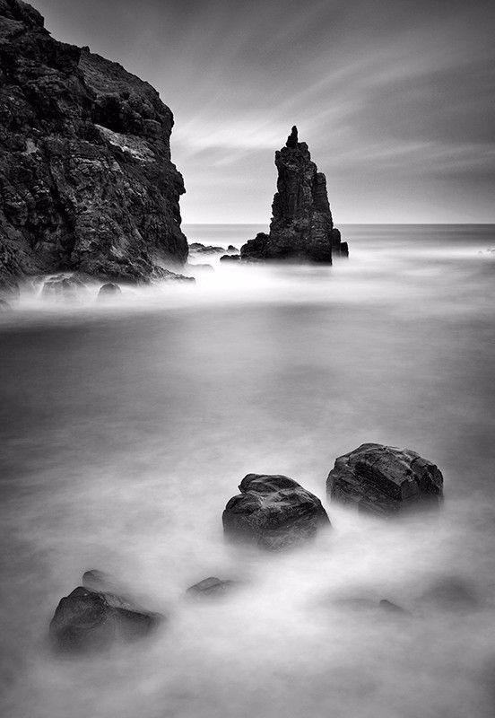Portcoon northern ireland landscape photography and black white photography