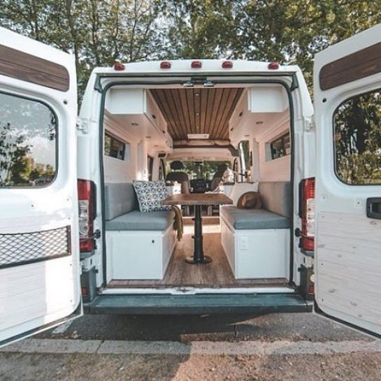 Photo of Möchten Sie einen Rundgang durch unseren Van machen? Hier ist unsere Küche Wohnzimmer Veranda Schlafzimmer Terrasse und …, #Bedroo …
