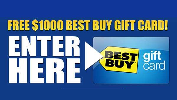 Win 1 of 12 1,000 Best Buy Canada Gift Cards! in 2020