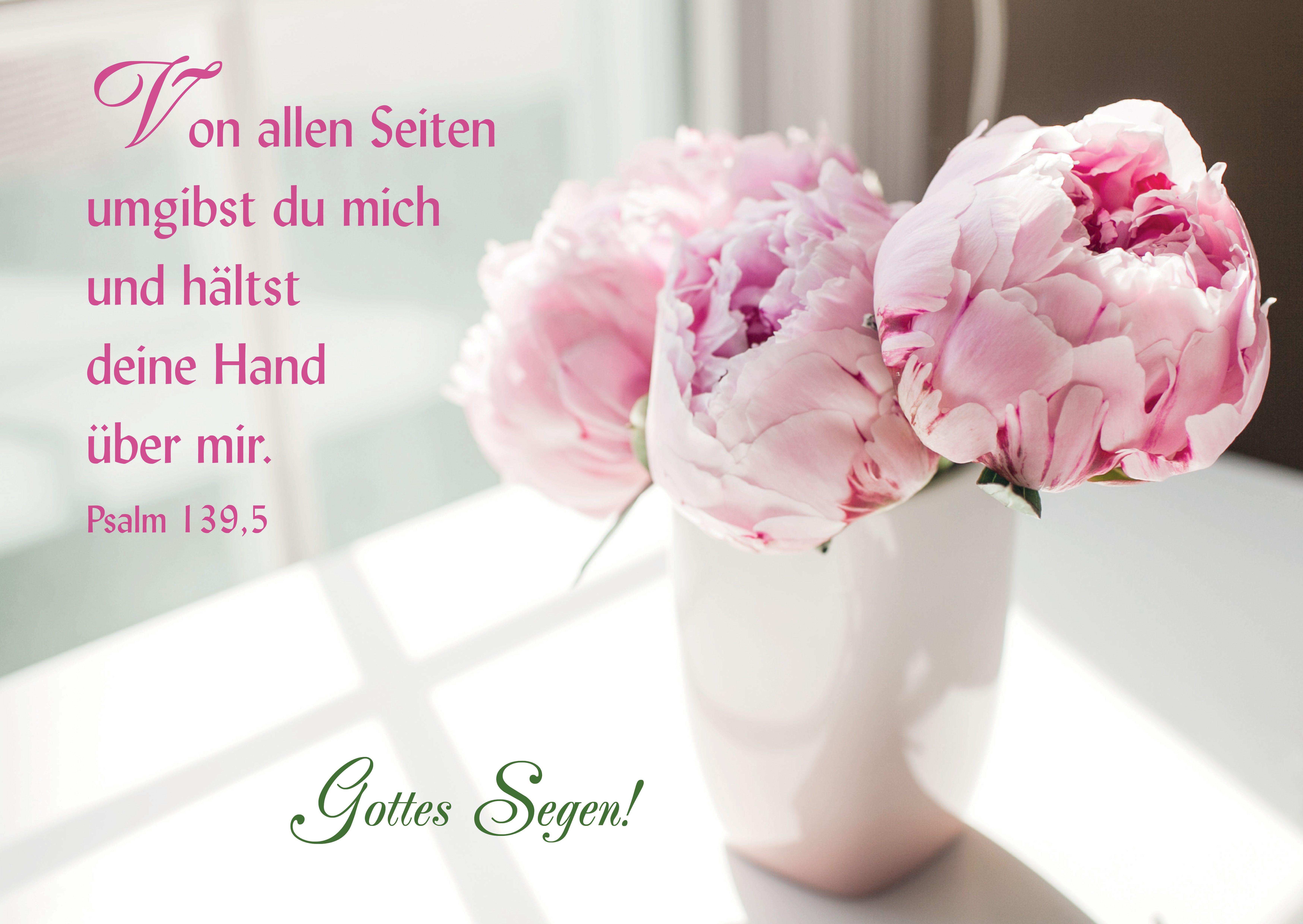Postkarte Gottes Segen Segen Psalmen Und Bibelverse Segen
