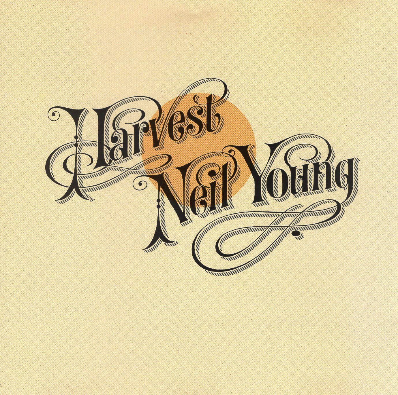 "Neil Young ""Harvest"" album cover in 2020 
